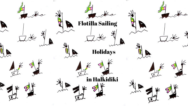 flotilla in Halkidiki