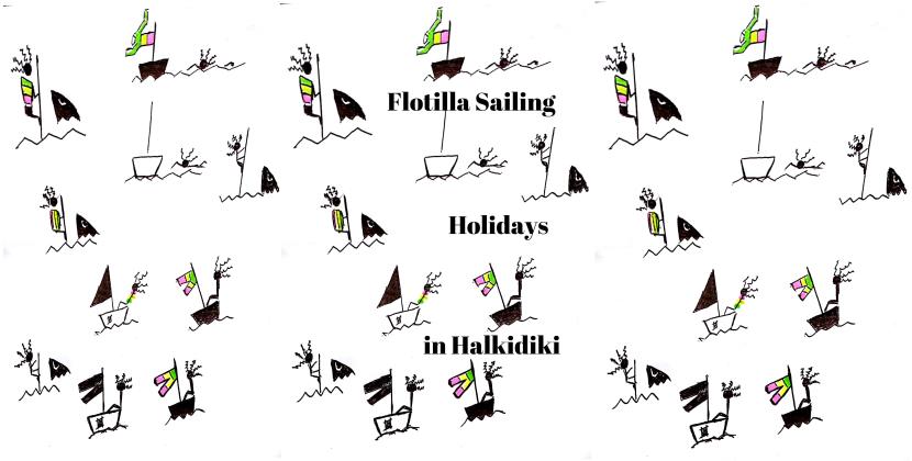 flotilla in Halkidiki