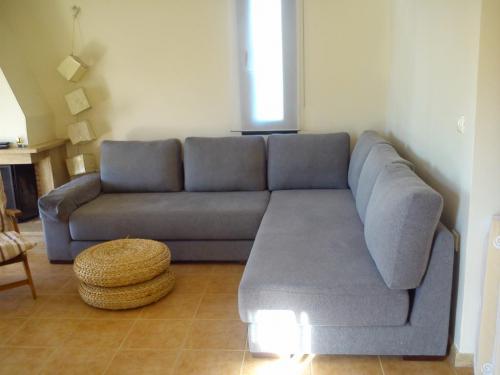 Villa Anastasia Skioni living room