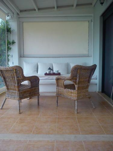 Villa Anastasia Skioni terrace 2
